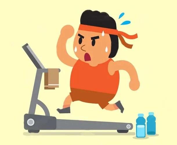 correre non fa dimagrire