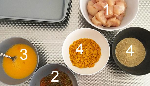 recept crispy chicken