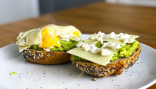 Beste Recept: Broodje Avocado met Ei en Kaas! - Fit Addict BF-12