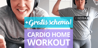 home workout cardio