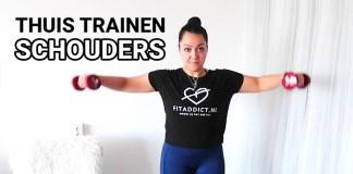 thuis trainen schouders