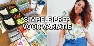 meal prep variatie losse ingredienten