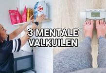 3 mentale valkuilen afvallen