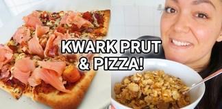 alles wat ik eet kwark pizza