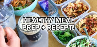 gezonde meal prep