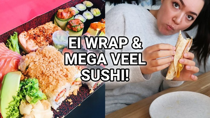 ei wrap mega veel sushi