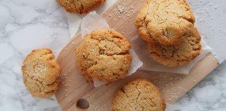 koolhydraatarme kokos koekjes