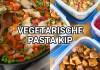 vegetarische pasta kip