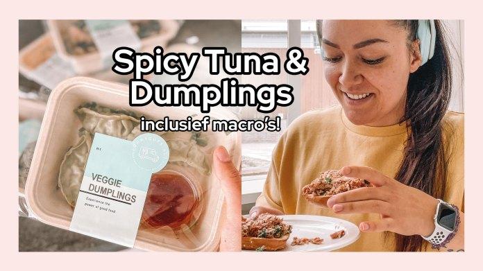 tonijnsalade dumplings
