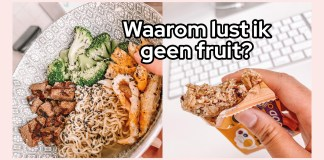 geen fruit