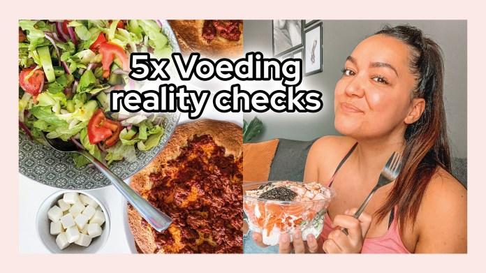 voeding reality checks