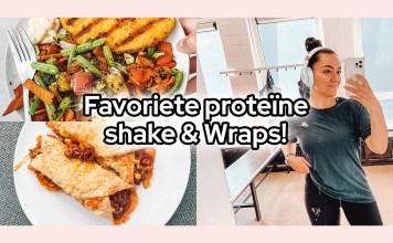 proteïne shake wraps