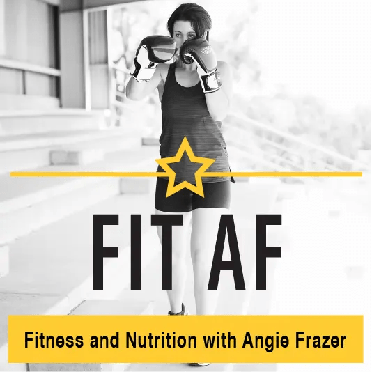 Fit AF Logo with Image of Angie