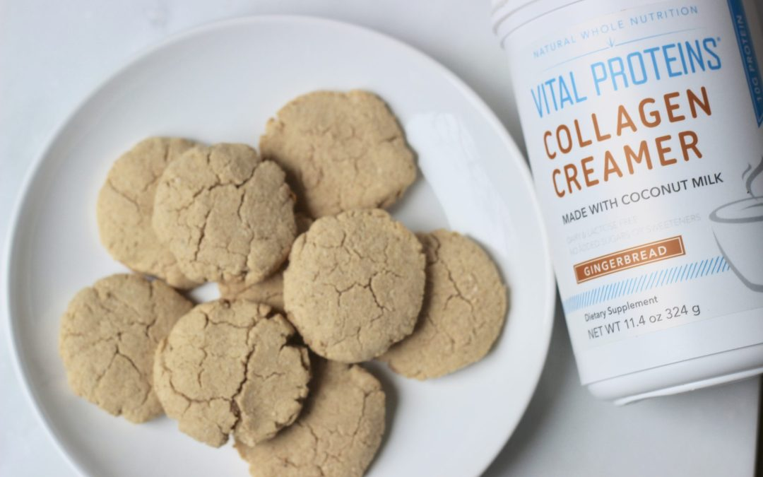 Healthy & Gluten-Free Gingerbread Cookies