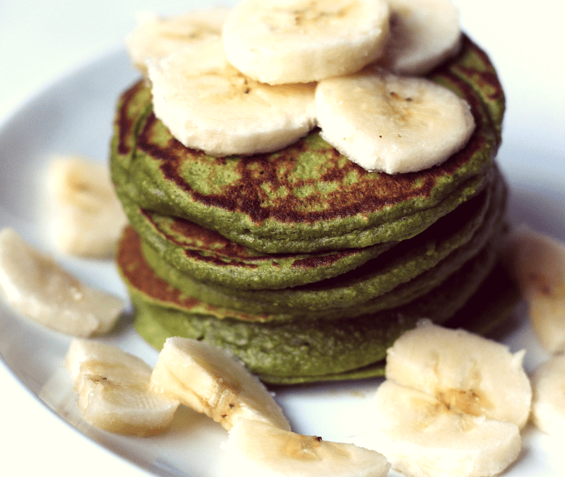 Spinach Banana Pancakes – healthy and kid-approved