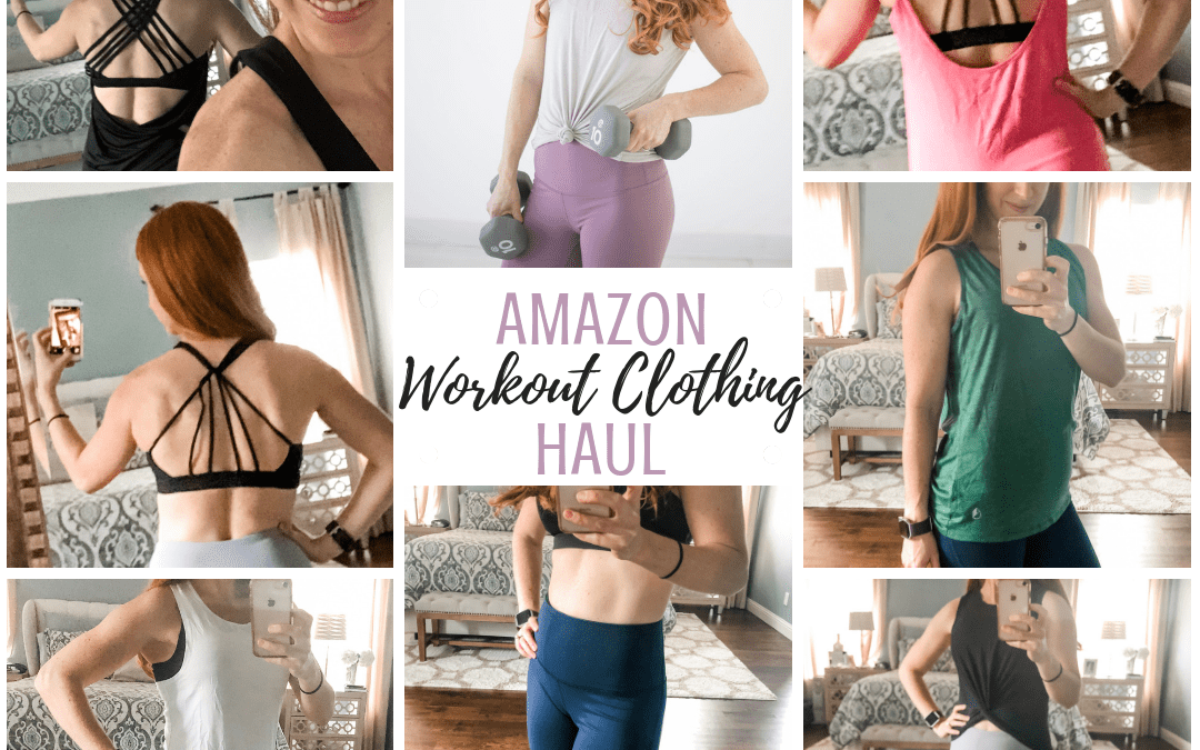 Amazon Workout Clothing Haul: athleisure try-on