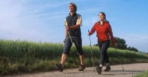 nordicwalking couple slider