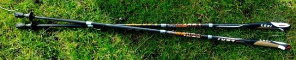 Leki trail sticks