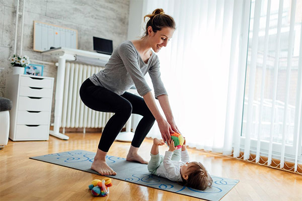 Online exercise programme for postnatal and prenatal mums
