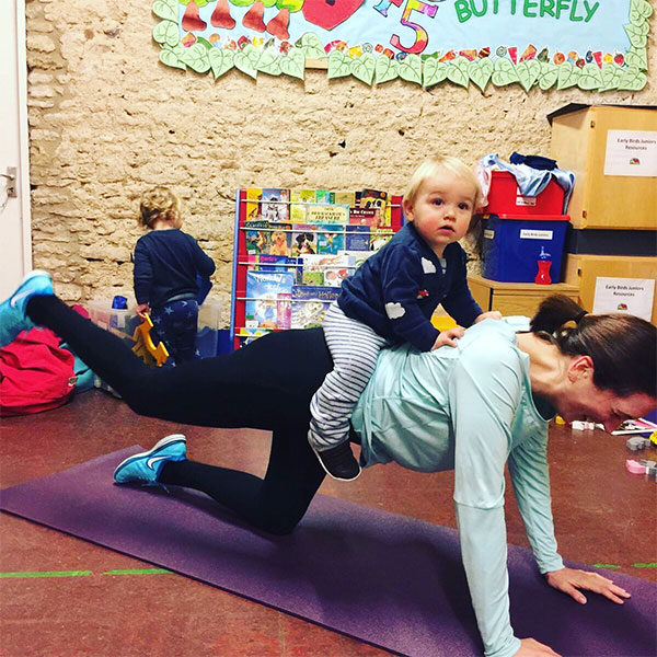 Mum and Tots Pilates Oxford