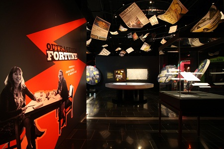 Outrageous Fortune - The Exhibition, War Memorial Museum, Auckland, New Zealand