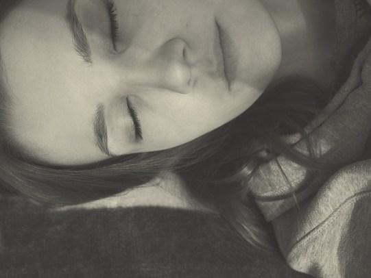 Sleep enough to fight acne