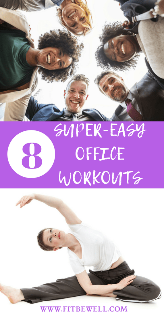 8 Office Workouts to keep You FIT