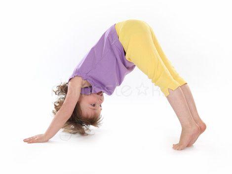 Yoga - Dog pose for kids