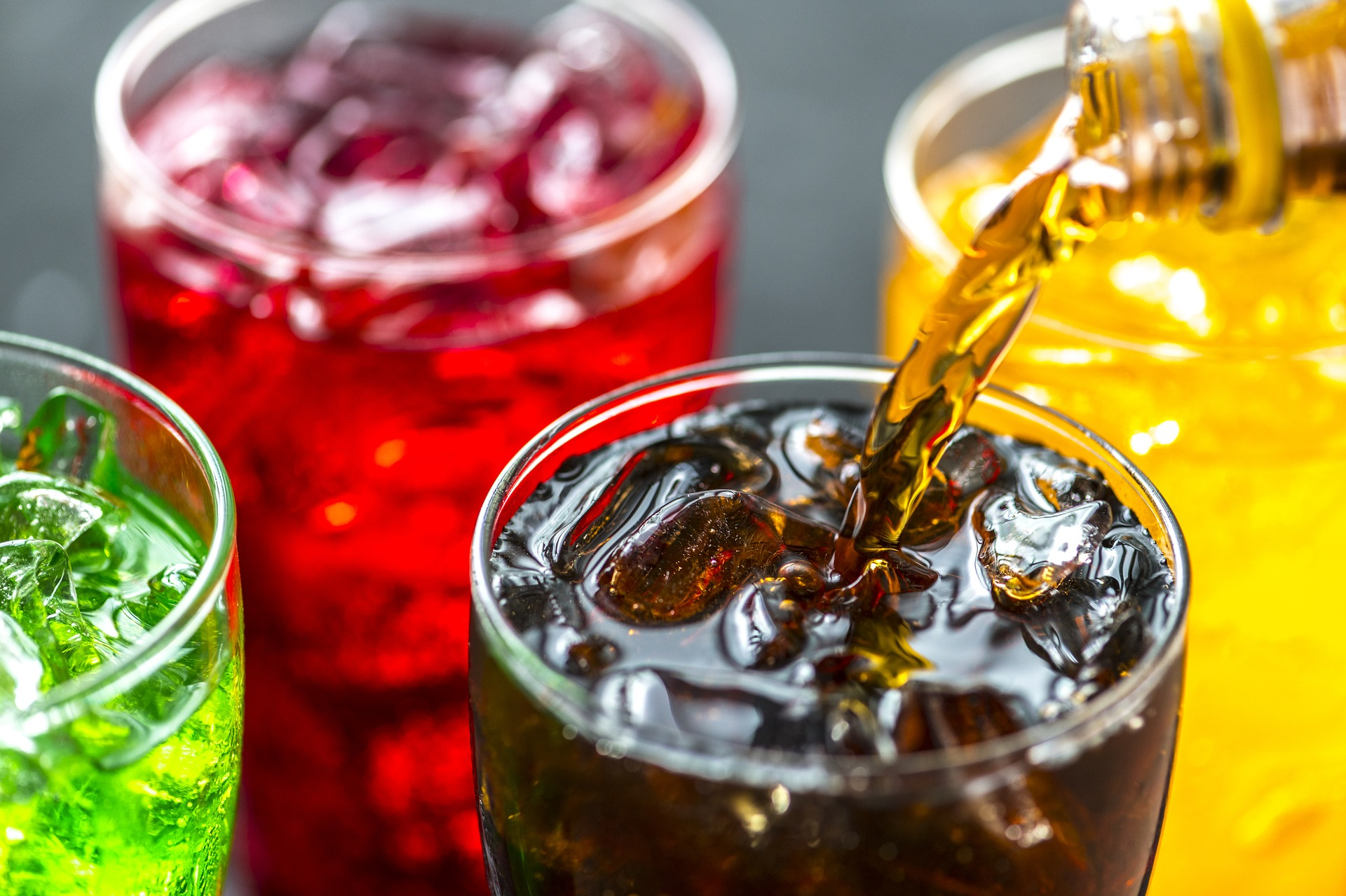 Quitting carbonated drinks processed foods