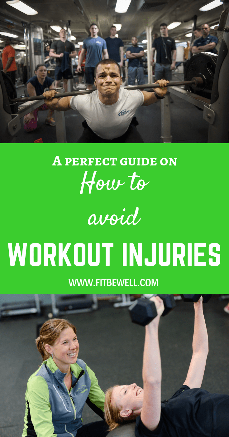 How to avoid Workout Injuries in the gym or anywhere