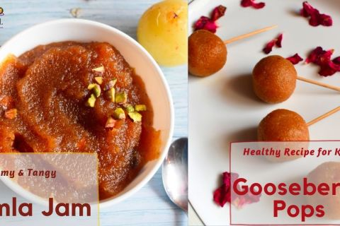 Making healthy and tangy AMLA JAM & AMLA POPS