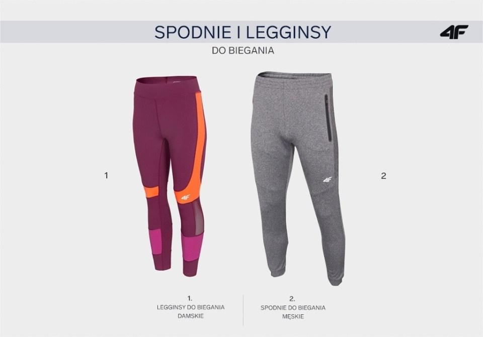 prezent dla biegacza spodnie i legginsy do biegania