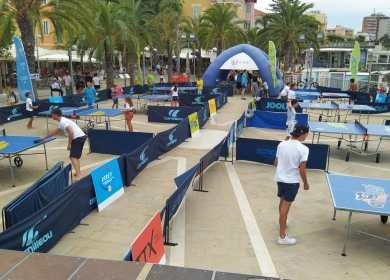Foto 4 Tappa Ping Pong Tour 2021 di Arma di Taggia panoramica dei tavoli