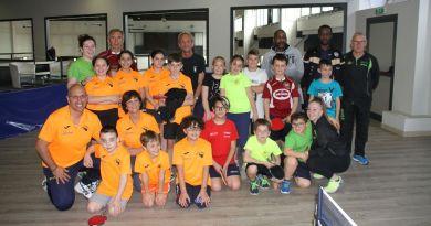 Quattro società per lo stage giovanile ospitato dal Ping Pong Center Pian Camuno e organizzato dal comitato Fitet di Brescia