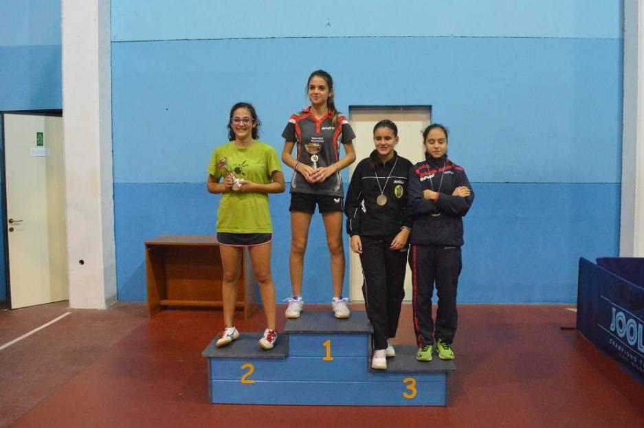 Alice Mattana vince i Quarta femminili (Foto Luciano Saiu)