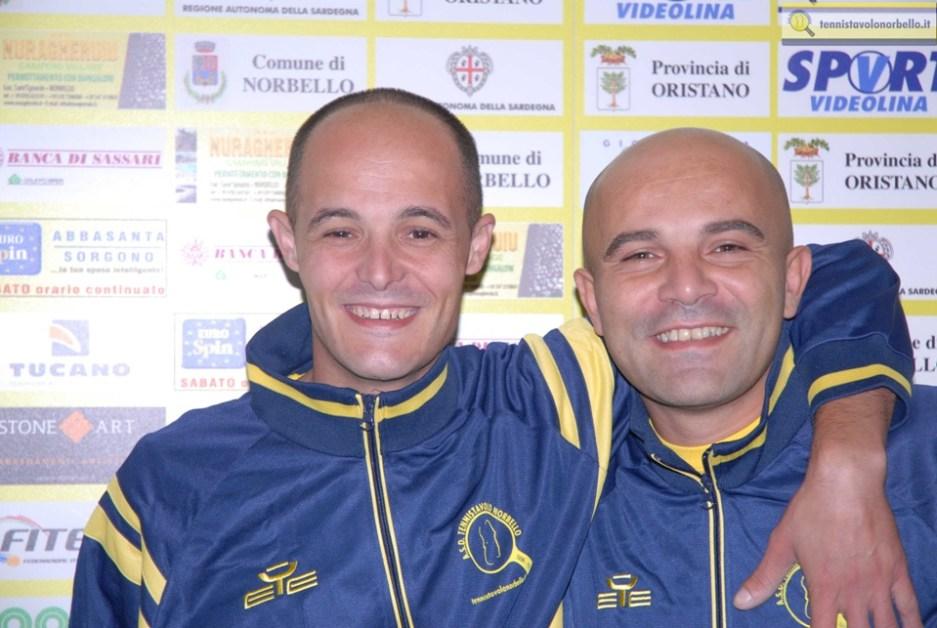 Federico Concas e Silvio Dessì