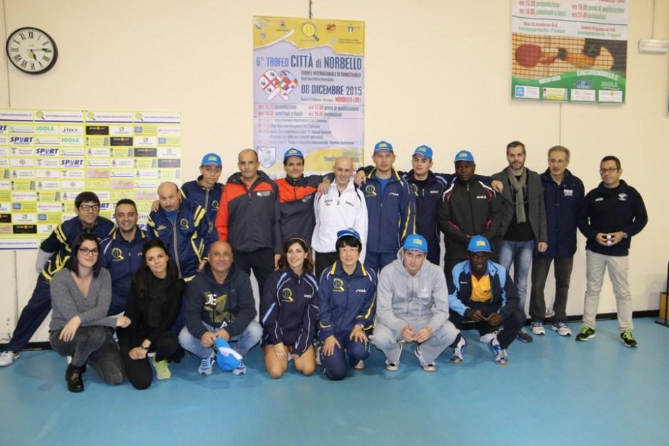 I protagonisti del Trofeo Internazionale Città di Norbello (Foto Gianluca Piu)