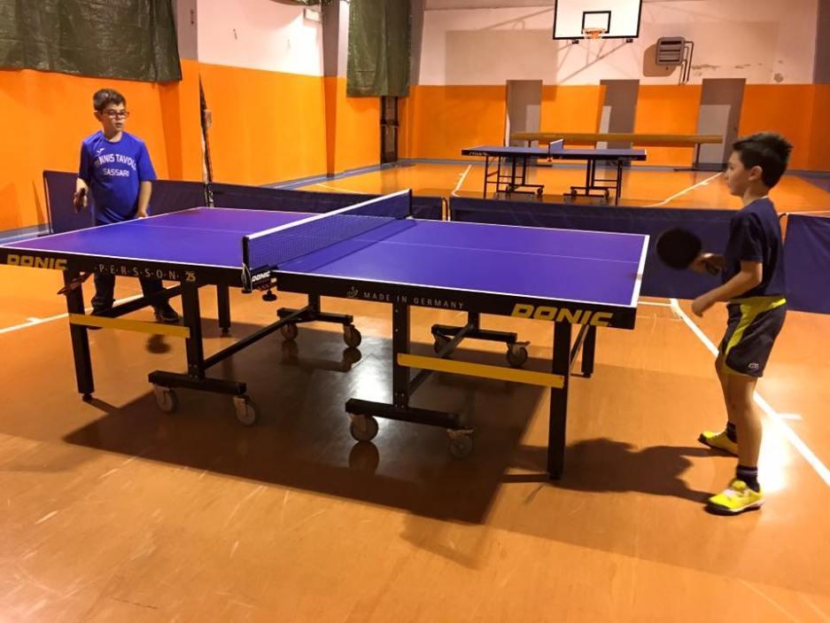 Una fase del match delel giovani leve di Nulvi e Sassari