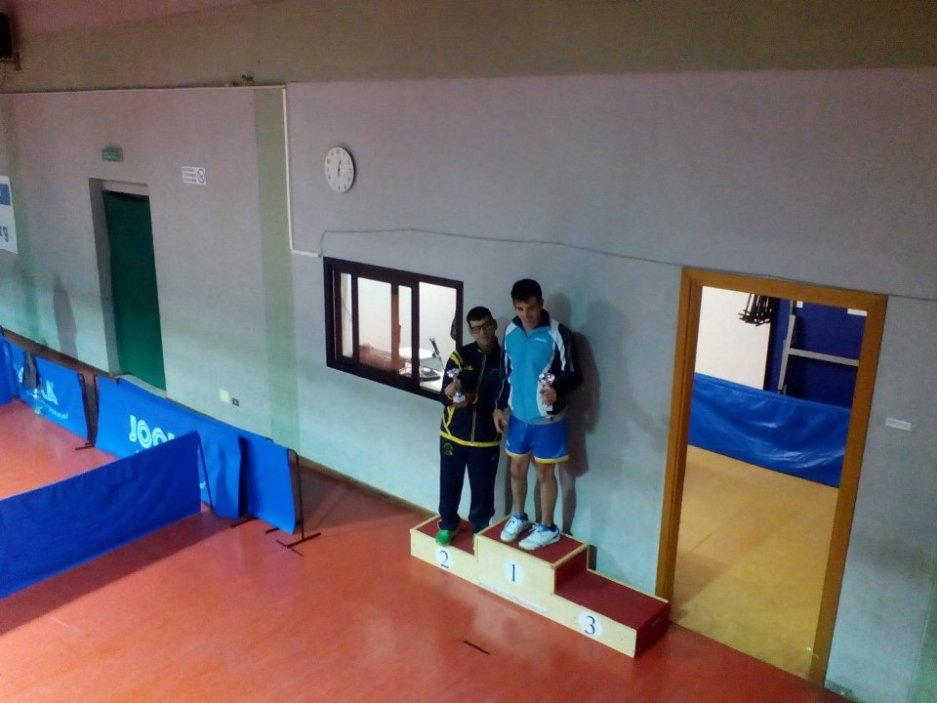 Il podio dei paralimpici (Foto Alberto Cualbu)