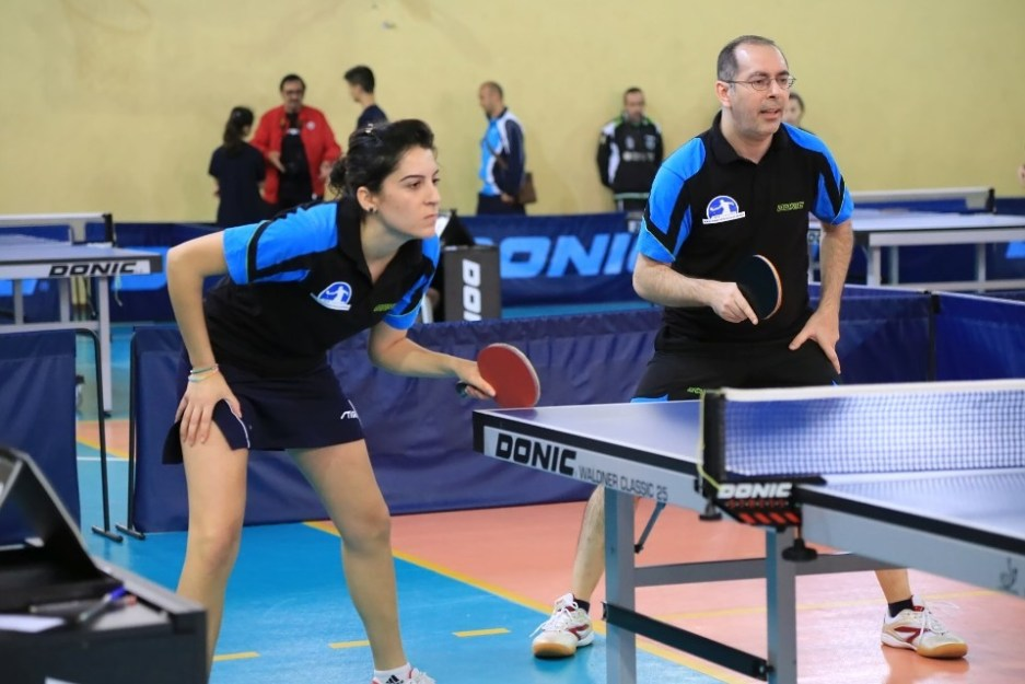 Anna Podda e Maurizio Piano dell'Azzurra B (Foto Tomaso Fenu)