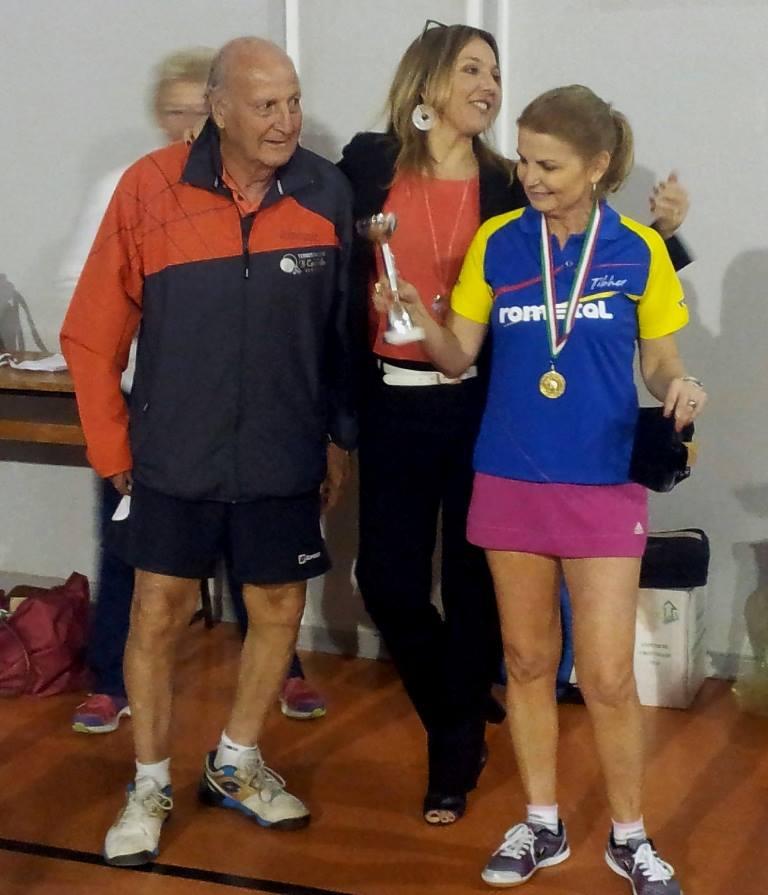 Maria Gaftea (Romania) vincitrice over 50 femminile