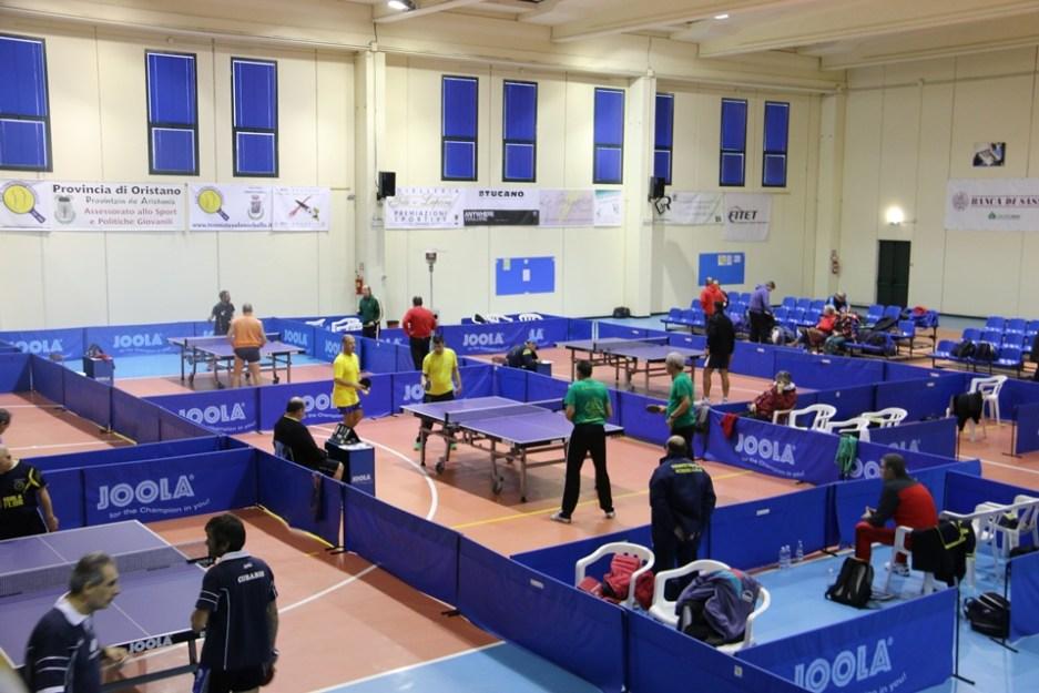 Un concentramento di campionati a squadre (Foto Gianluca Piu)
