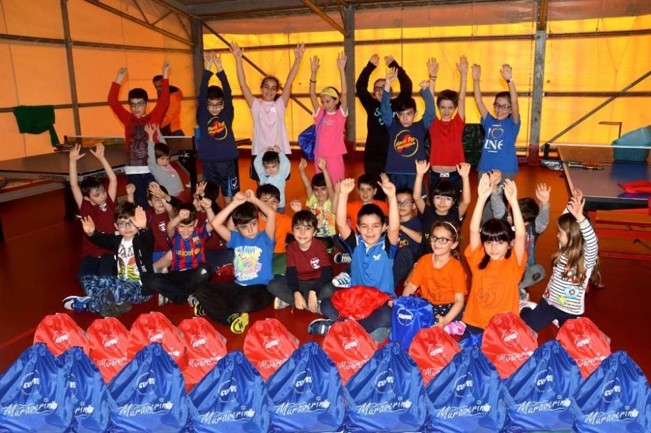 Tutti i partecipanti al Muraverino (Foto Luciano Saiu)
