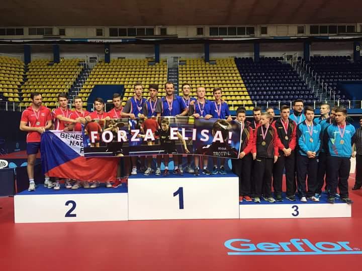 Podio con dedica per  i neo campioni Europei Juniores