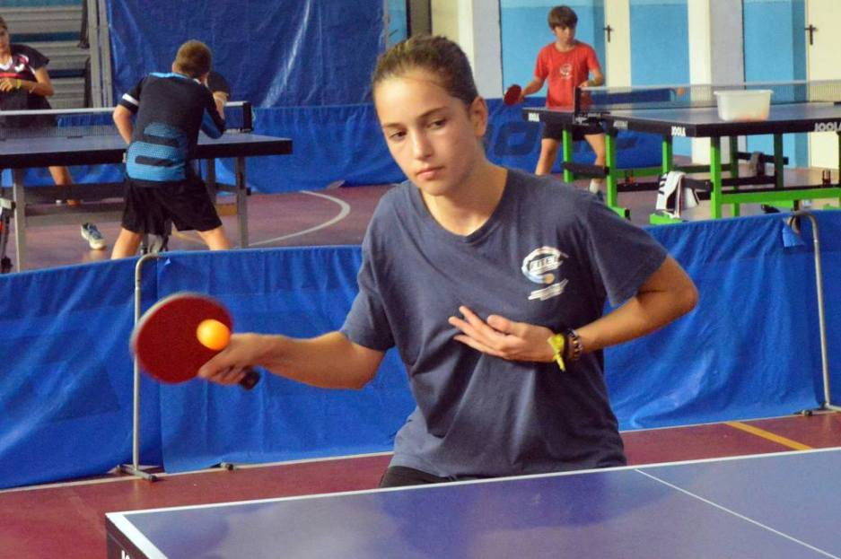 Andrea Giulia Ricupito vince nell'individuale femminile (Foto Luciano Saiu)
