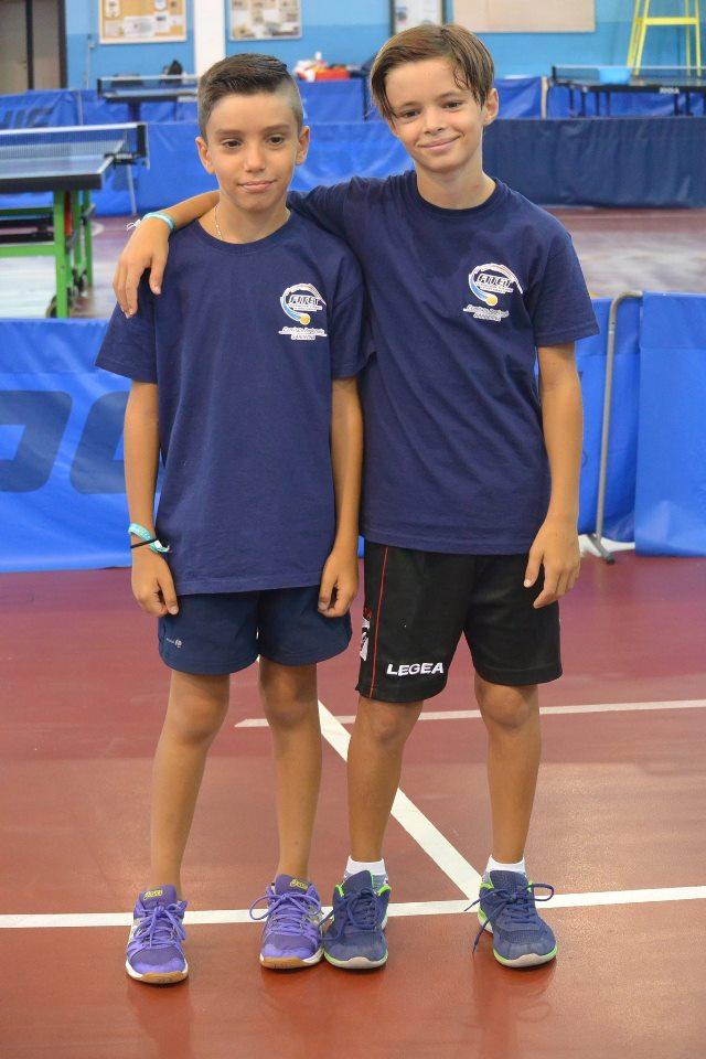 Manuel Broccia ed Elia Licciardi (Foto Luciano Saiu)