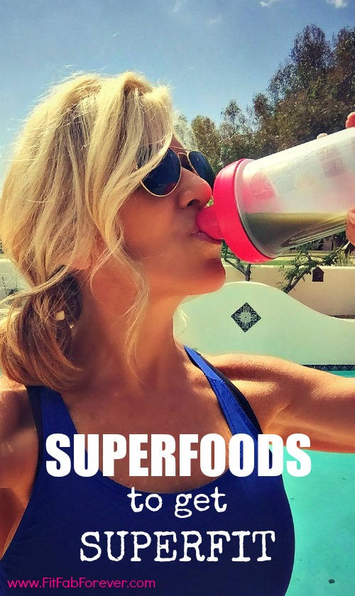 Drink Your SuperFoods to get SuperFit