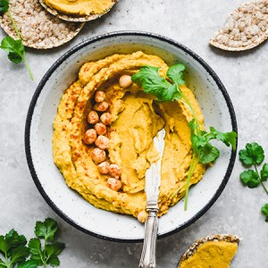 Butternut squash hummus - Fit Foodie Nutter