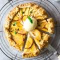 Vegan nectarine tart – Fit Foodie Nutter