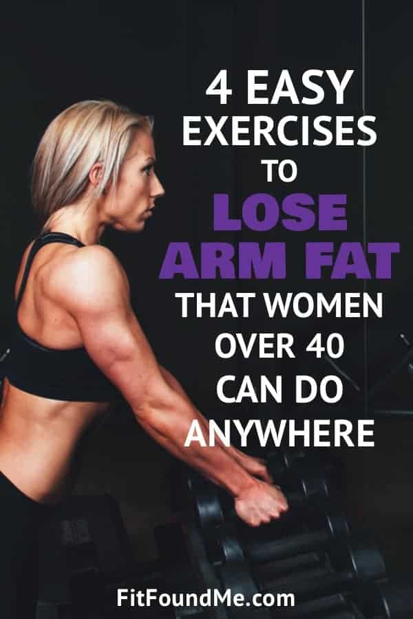 lose arm fat with these 4 exercises